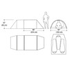 Marmot Haldor 3P Tent Moss